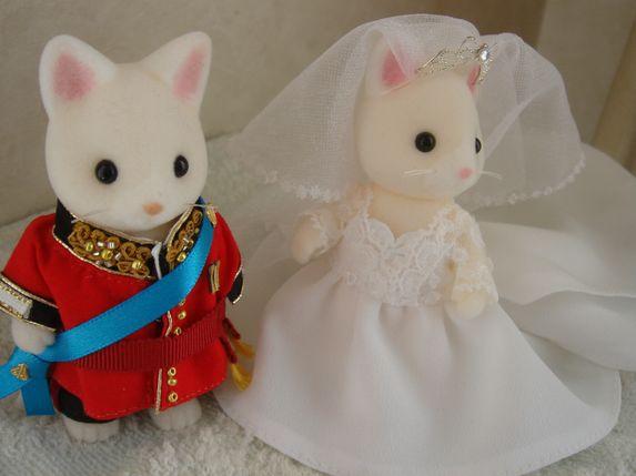 Sylvanian  royal wedding 1